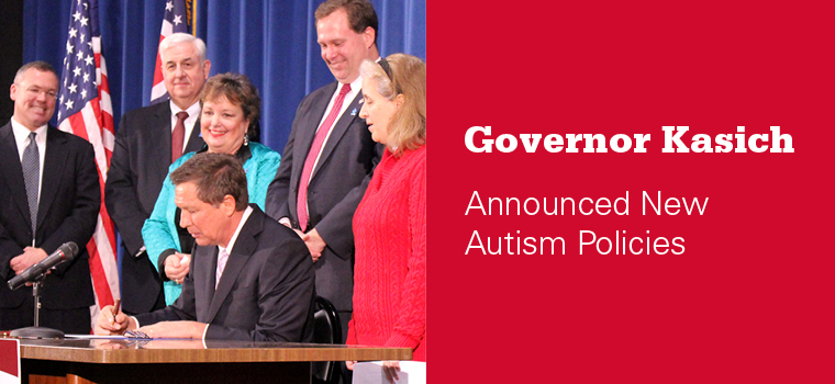 Governor Kasich Announced New Autism Policies